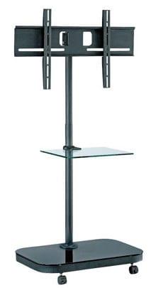 "AVFS941 37""-52"" upto VESA 600x400, 40kg, w/ glass shelf"
