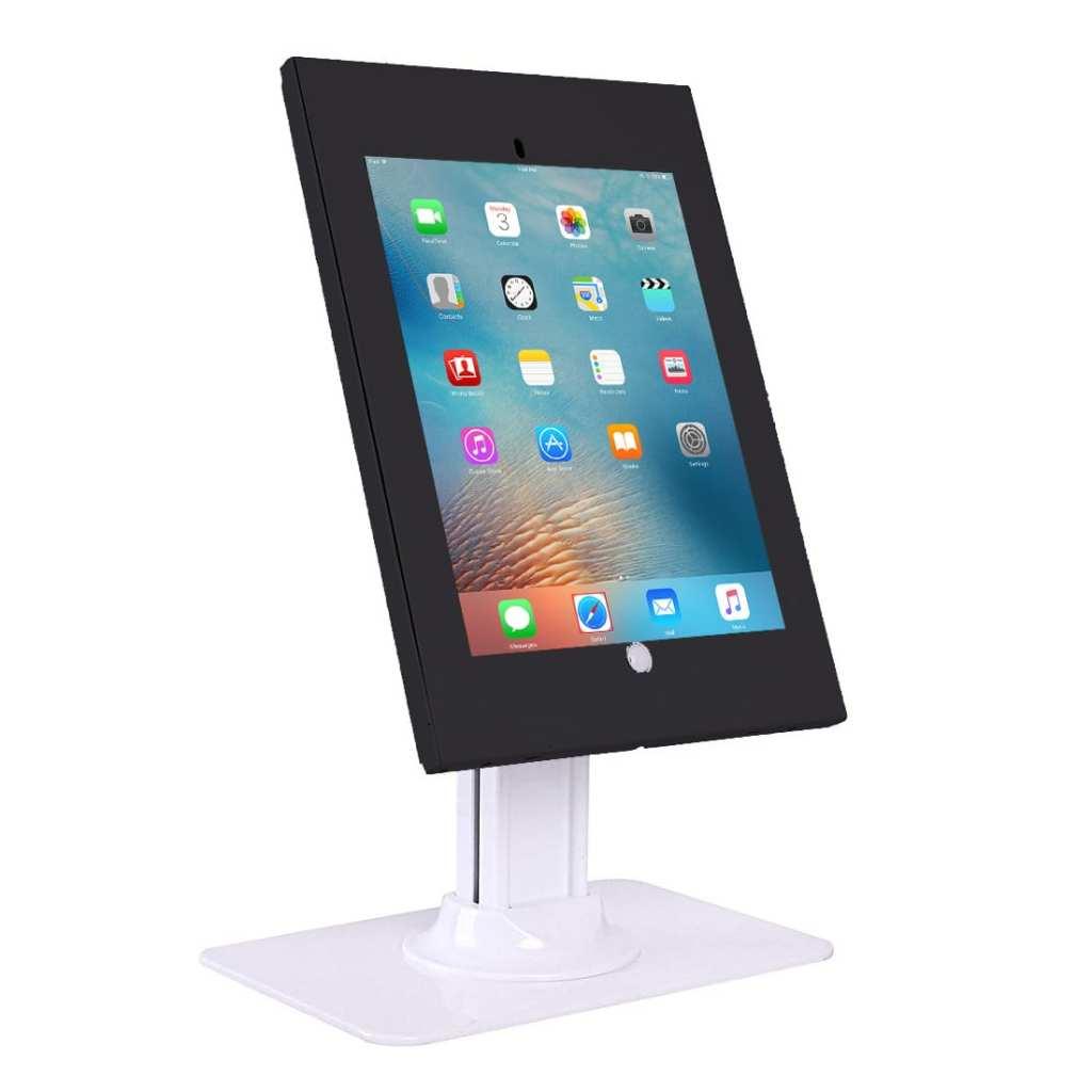 "IPA2602 anti-theft iPad kiosk desk stand for iPad Air, Air2, Pro 9.7"""