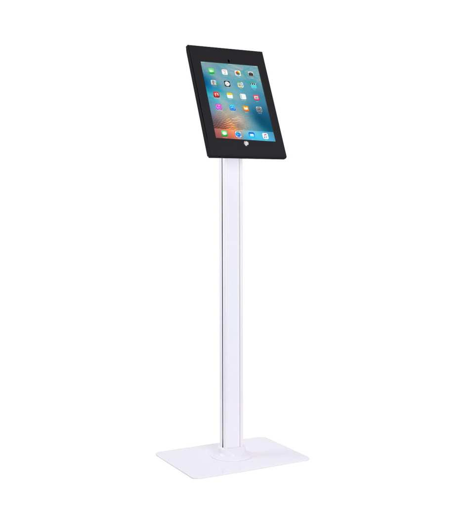 "IPA2604 anti-theft iPad Kiosk Floor Stand for iPad Air, Air2, Pro 9.7"""