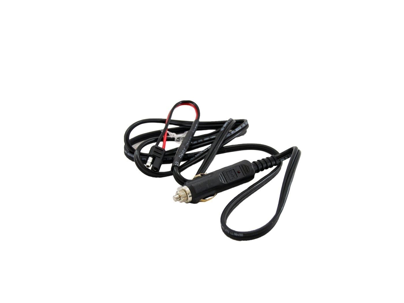 Heavy Duty 20a Cigarette Lighter Power Cable For Motorola