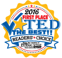 Journal Scene's reader's choice logo