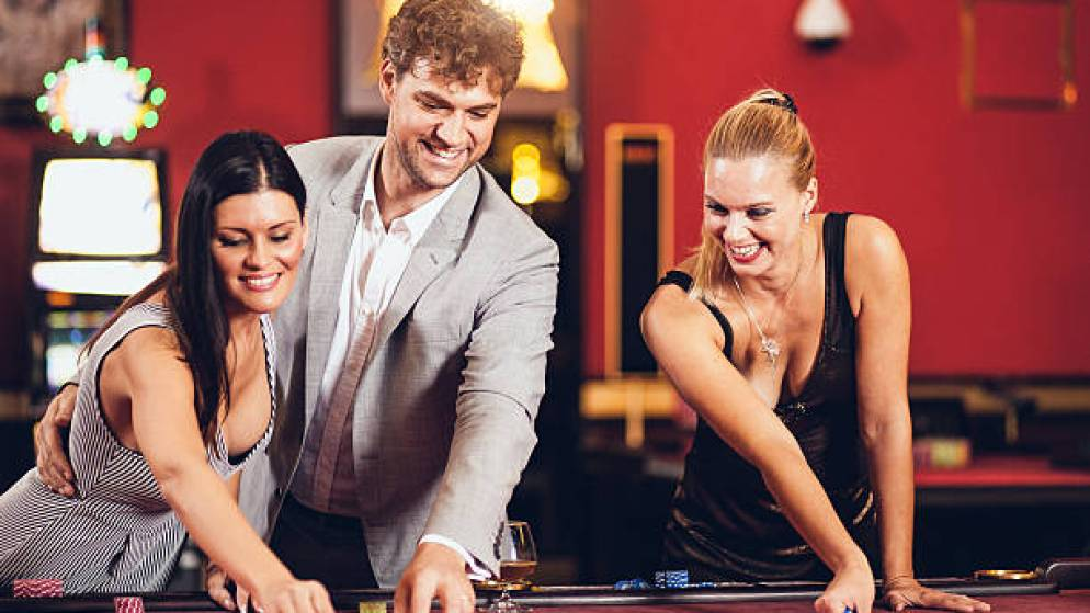 Young people playing best online casino sites UK