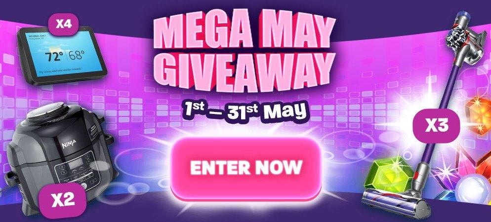 Jumpman Slot Sites Added Mega May Giveaway Offer