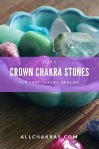 Crown Chakra Stones
