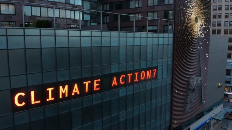 This facility counts time for the climate disaster