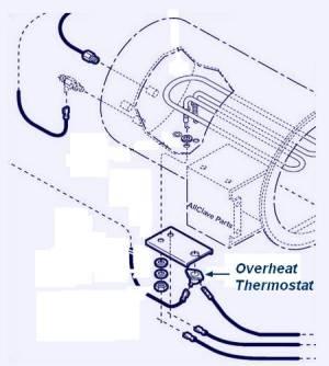 Midmark M11 OVERTEMP THERMOSTAT (Automatic Reset) [MIT047818]  $2997