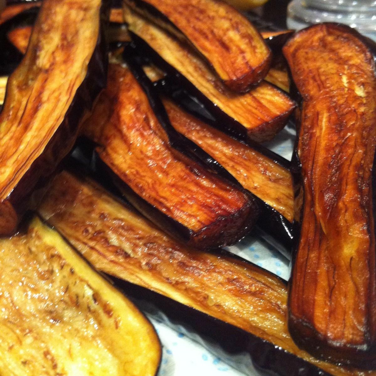 Szechuan style eggplant