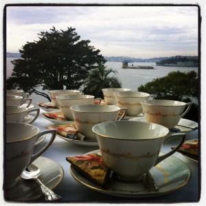 Morning Tea at Kirribilli House