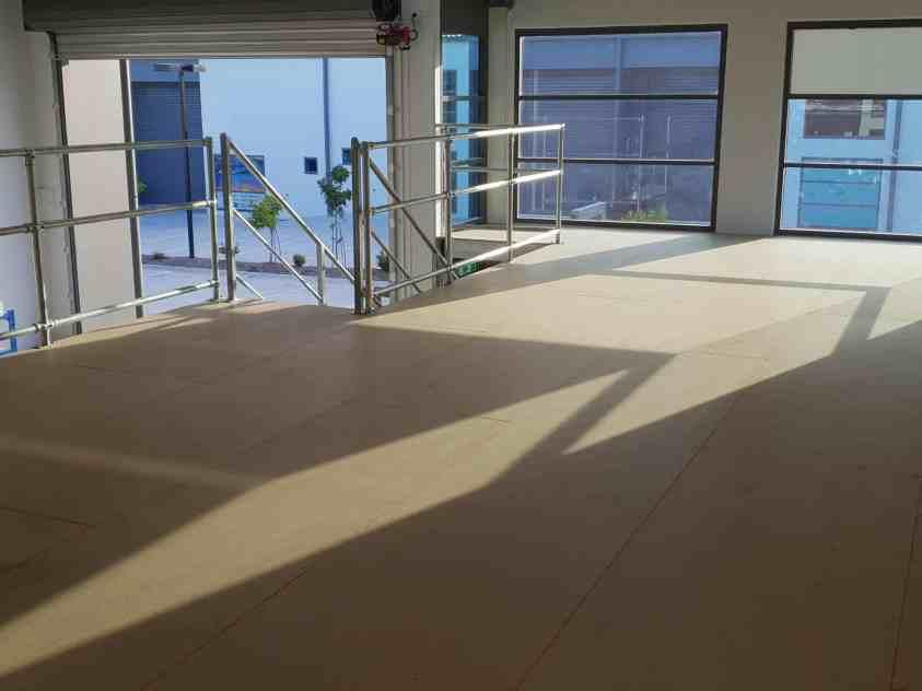 Mezzanine Installation Design Options