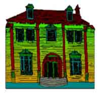 Printable Haunted House