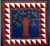 Tree of Life Paper Quilt