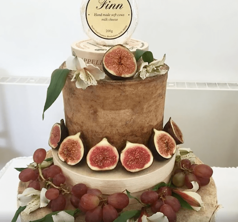 Cheese Wedding Cakes Tell Stories Of Family And Favorite Places allcreated   cheese wedding cakes