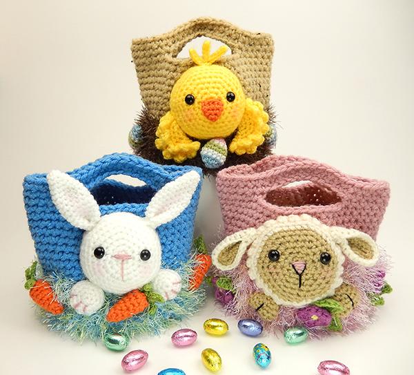 Easter Treat Bags Crochet Pattern