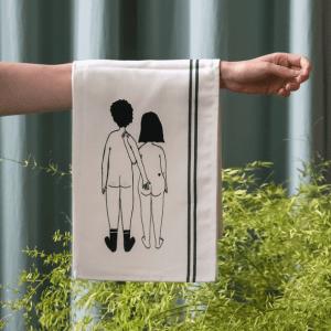 Helen B Tea towel