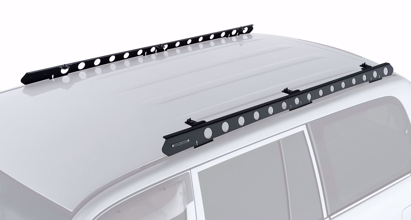 rhino rack rtlb2 100 series landcruiser backbone roof rack mounting kit