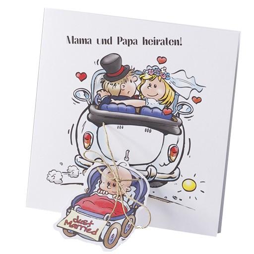 Rosa Volkswagen Kafer Mit Weisser Hochzeitsschleierillustration