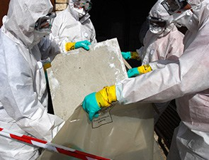 Removing Materials Containing Some Asbestos