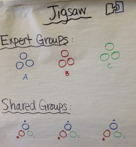 Jig Saw Group Directions