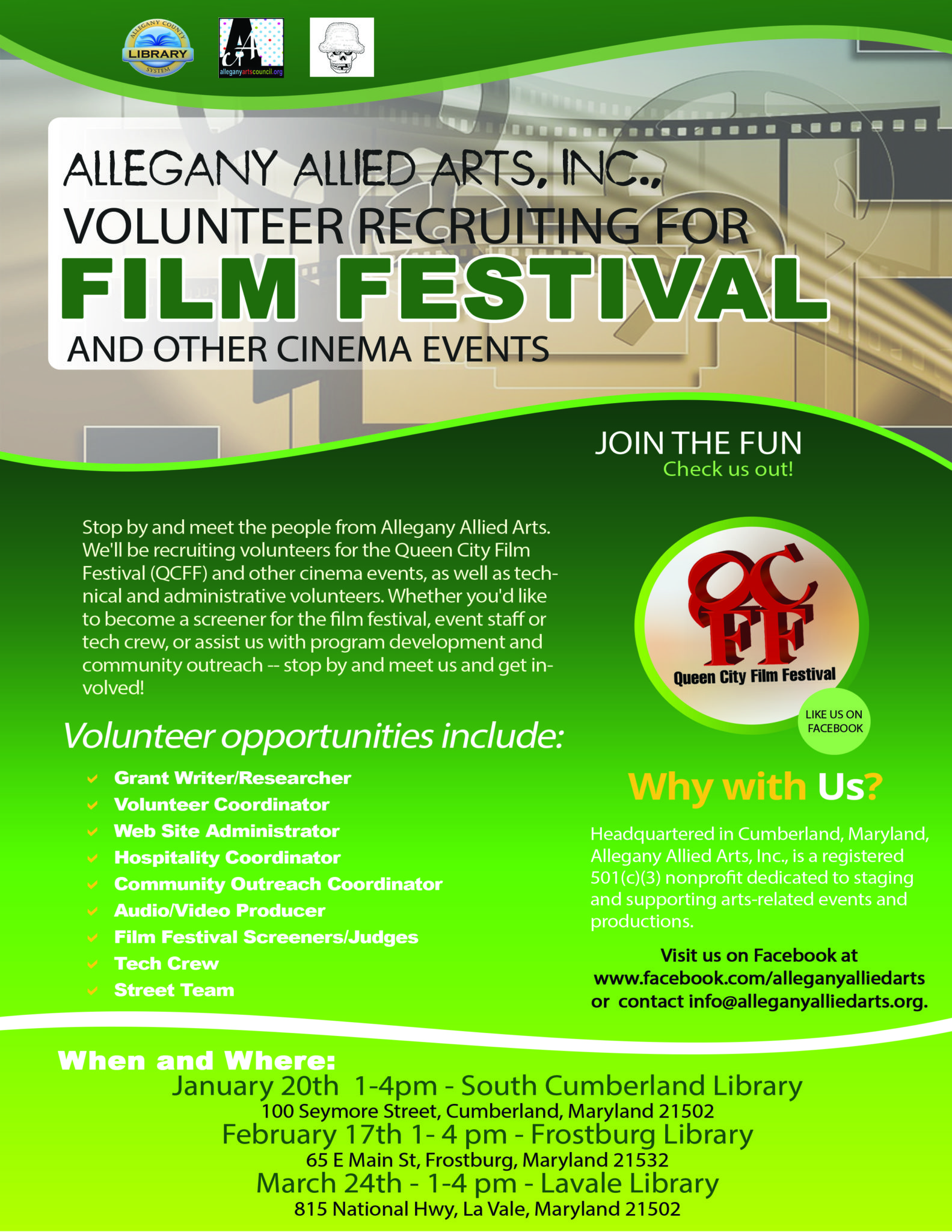 Allegany Allied Arts Inc