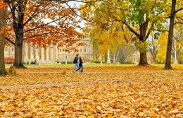 Students walk through campus at Penn State University in State College, Pennsylvania. Photo: PSUpix via FLickr