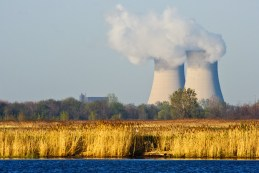 The Enrico Fermi Nuclear Power Plant, on Lake Erie near Detroit, Michigan. Photo: James Marvin Phelps via Flickr