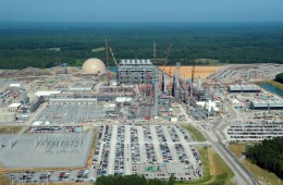 The electric-generating facility under construction in Kemper County, Mississippi is a next-generation coal-fired power plant that will use carbon capture technology. The plant, which will cost $6.1 billion, is scheduled to open in 2016. Photo: Wikimedia Commons