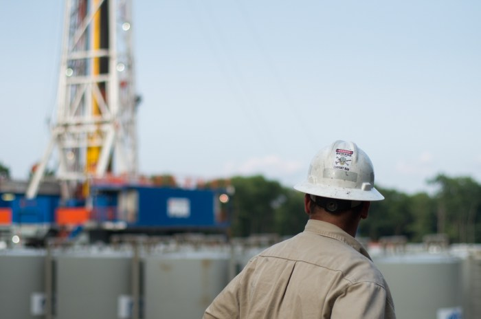 Pennsylvania's natural gas industry has been struggling in the face of low commodity prices. Photo: Joe Ulrich / WITF