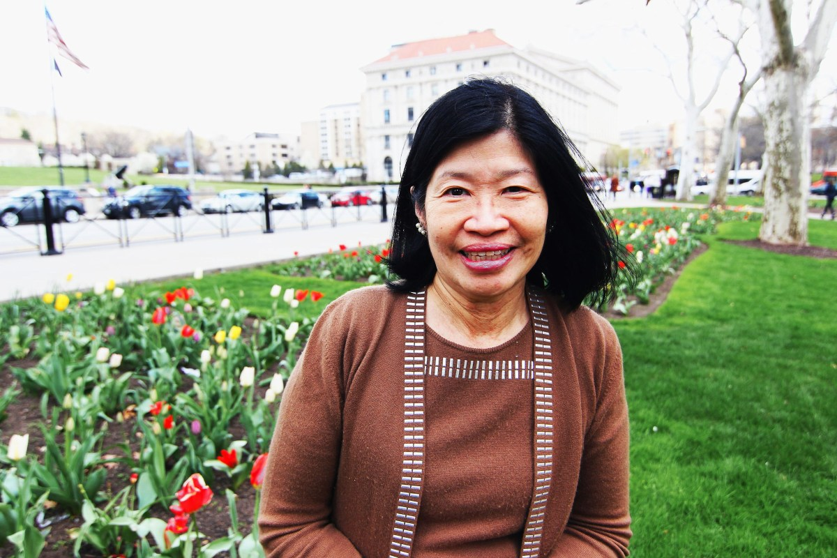 Vivien Li has been at the helm of Riverlife for just six months. But she has high hopes for where the non-profit devoted to restoring Pittsburgh's riverfronts is headed next. Photo: Kara Holsopple