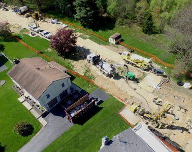 Mariner East aerial view