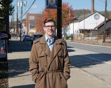 Monessen Mayor Matt Shorraw