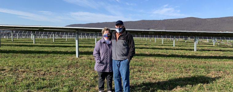 Landowners Glenn and Kitty Dice
