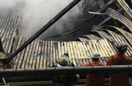 Fire at U.S. Steel