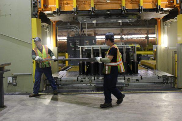 Lordstown Motors sheet metal workers