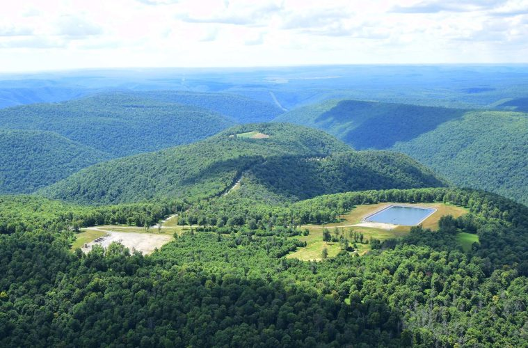 Fracking in Tiadaghton State Forest