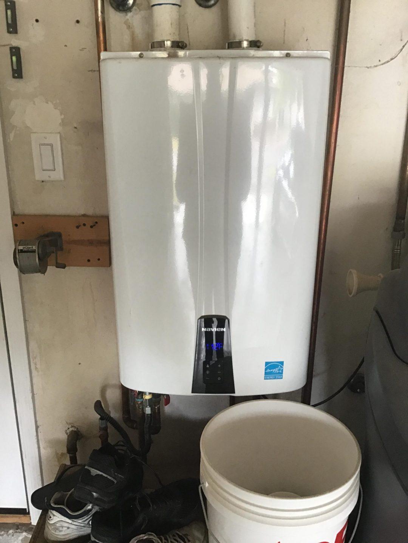Navien Tankless Water Heater Installation