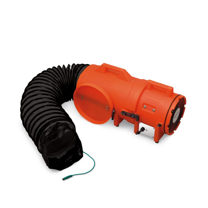 8 axial explosion proof blower