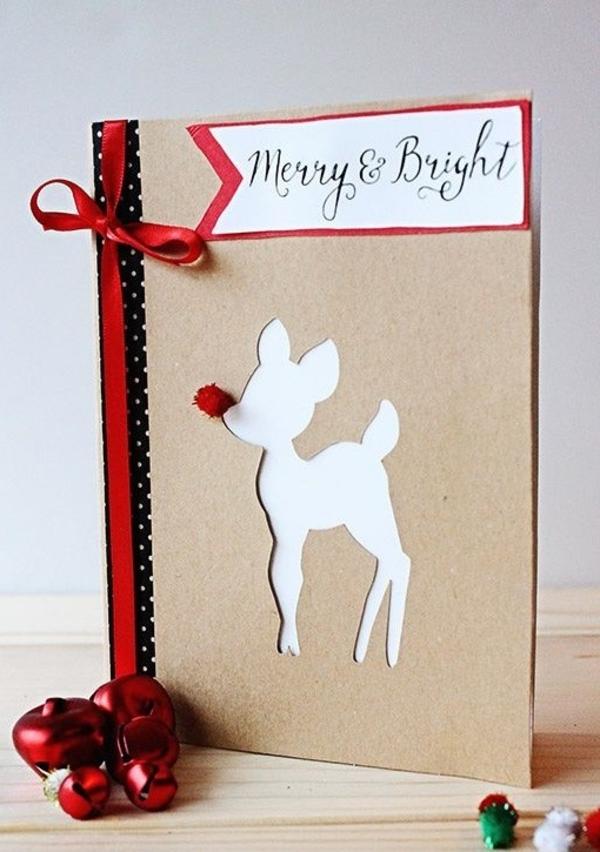 Weihnachtskarten Basteln Ein Persnliches Geschenk Fr