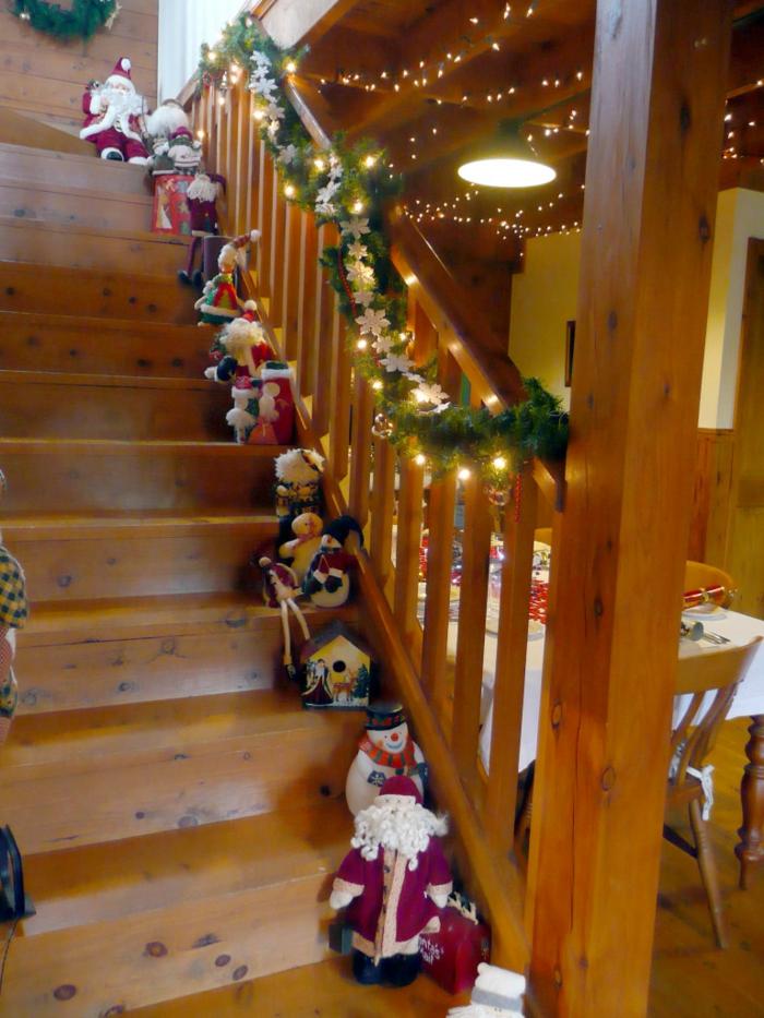 1001 Dekoideen Weihnachten Das Treppenhaus