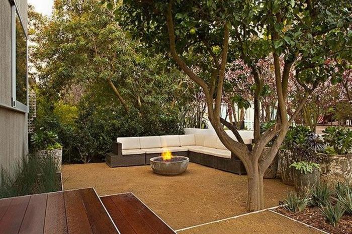 Umweltfreundliche Gartengestaltung Mit Feuerstellen