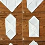 Ideen Zum Servietten Falten Fur Eine Besondere Tischstimmung