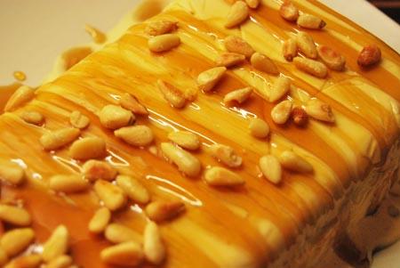 honig-semifreddo mit pinienkernen