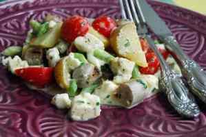 Nürnberger Bratwurst-Salat