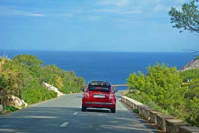 Mit dem Auto auf Mallorca