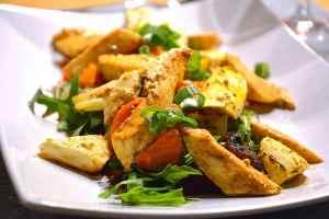 Mozzarella mit Gemüse als winterliche Alternative