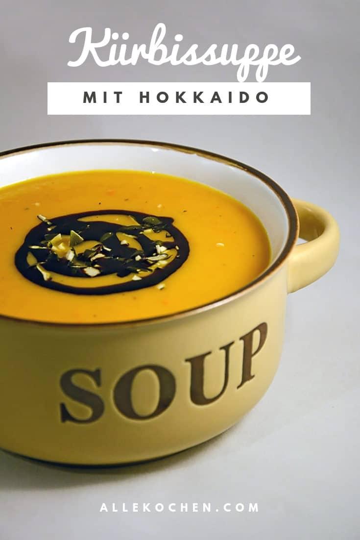 Der herbstliche Klassiker - Kürbissuppe mit Hokkaido