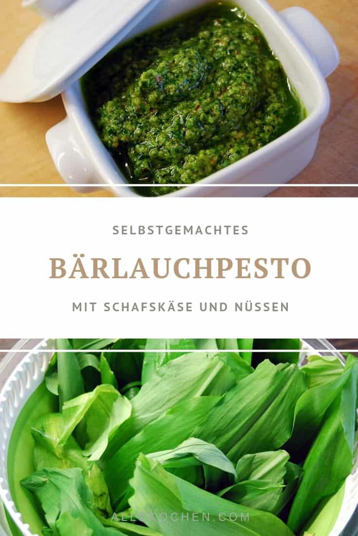 Ein einfaches Rezept für Bärlauchpesto mit Schafskäse. Ideal im Frühling. Lässt sich auch gut verstauen.