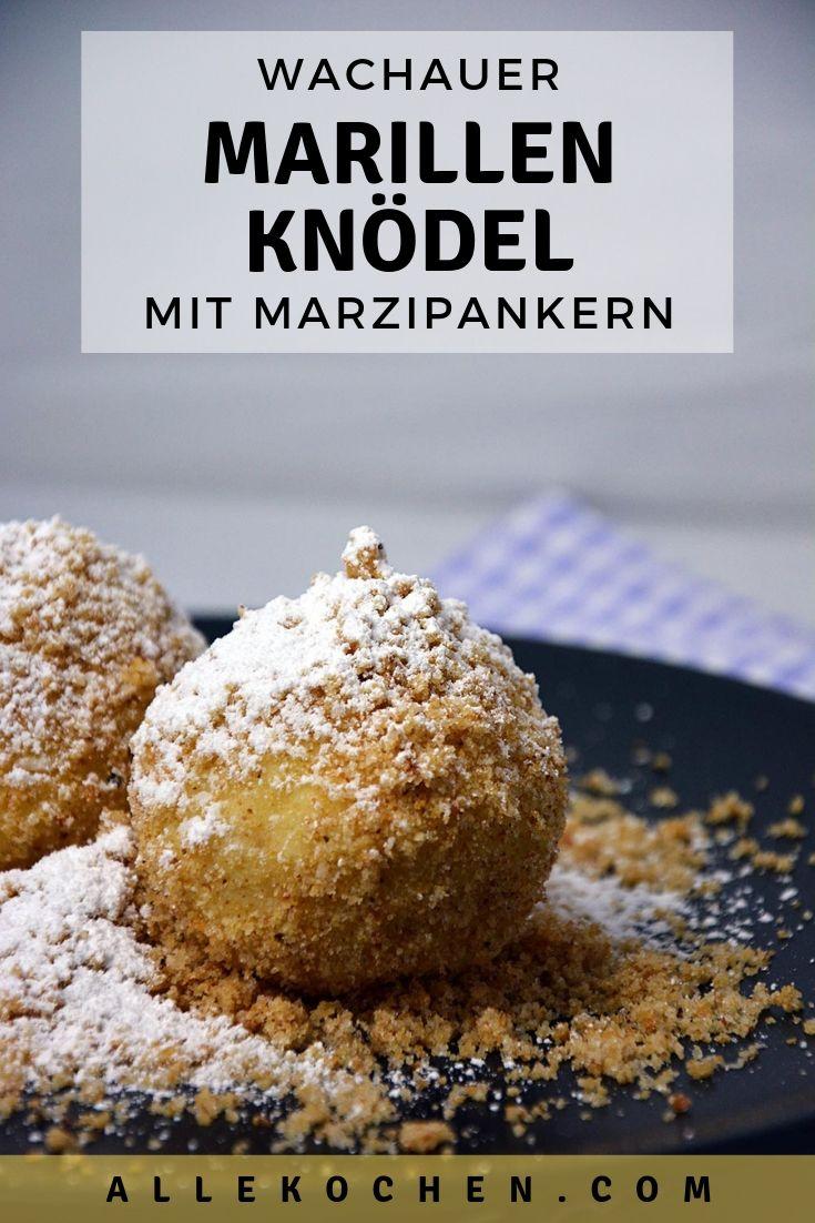 Rezept für einfache Marillenknödel mit Topfenteig.. Ein österreichischer Klassiker der Mehlspeisküche.