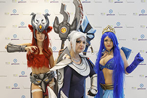 cosplay sur la gamescom Cologne