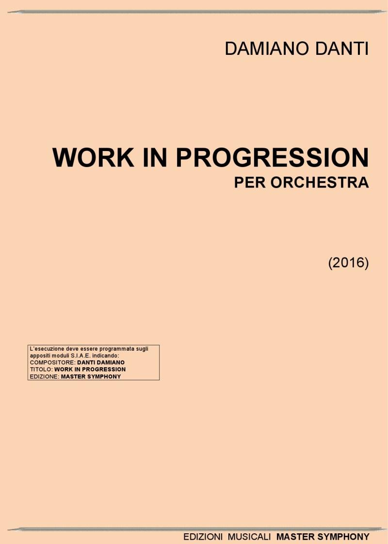 WORK IN PROGRESSION Orchestra