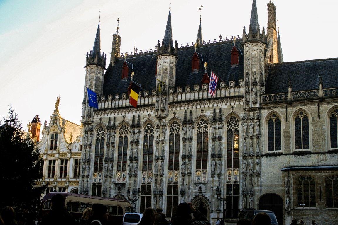 Brugge Il municipio